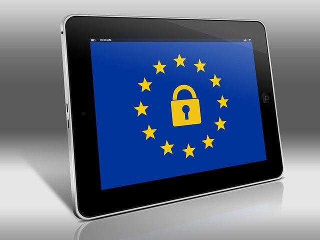 How does GDPR affect the processing of personal information within the whistleblowing system?