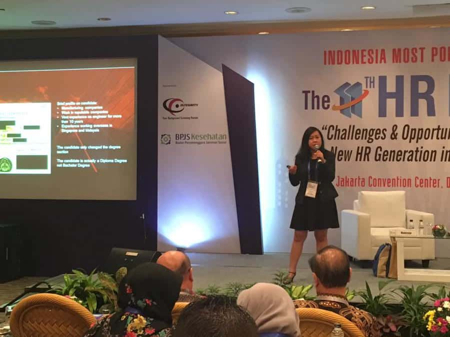 Integrity Indonesia as Main Sponsor of 11th Indonesia HR Expo